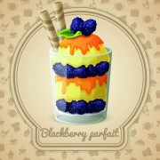 Link toTasty dessert background design vector 04 free