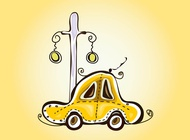 Link toTaxi sketch vector free
