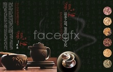 Link topsd design poster packaging Tea