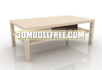 Link toTea table, coffee table decorations simple furniture, simple 3d models