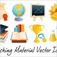 Link toTeaching vector material icons - vol 1