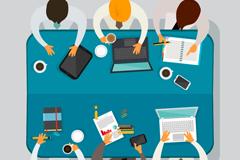 Link toTeam meetings top vector