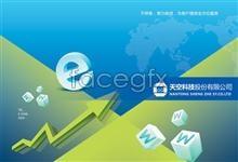 Link toTechnology company brochure psd