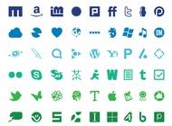 Link toTechnology logo set vector free