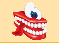 Link toTeeth cartoon vector free