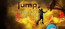 Link toTelecontrol strong basketball dunk psd templates