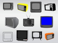 Link toTelevision illustrations vector free
