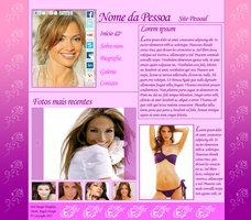 Link toTemplate de site simples estilo site pessoal