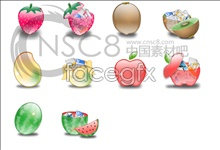 Link toTempting fresh fruit icons