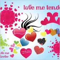 Link toTender love vector graphics