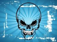 Link toTerror skull cartoon vector free