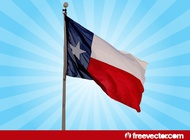 Link toTexas flag vector free