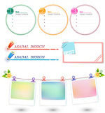 Link toText frame vector