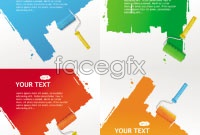 Link toText paint brush vector