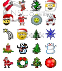 Link toTexture and small christmas icons