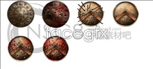 Link toTexture king conan shields icons