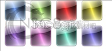 Textured crystal square icon