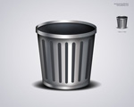 Link toTextured trash can icon