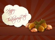 Link toThanksgiving background vector free
