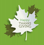 Link toThanksgiving maple leaf chinese restaurant cards vector