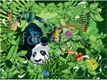 Link toThe animals in the forest vector