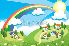 Link toThe beauty of spring vector illustration