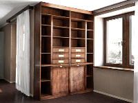 Link toThe chinese classical logs bookcase