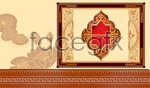 Link toThe classical pattern border psd