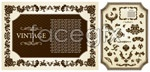 Link toThe classical pattern border vector