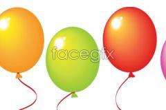 Link toThe colorful festival balloon vector