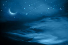 Link toThe dark blue sky background vector