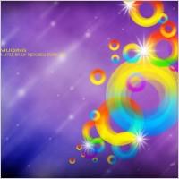 Link toThe dream color iris psd layered