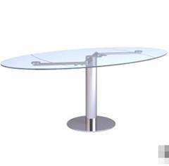 Link toThe elliptic transparent glass table 3d model