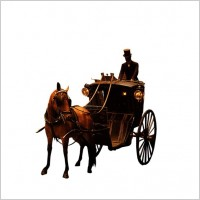 Link toThe european aristocracy gorgeous carriage and servant