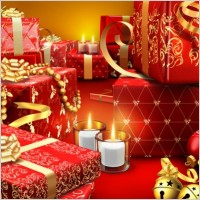 Link toThe exquisite festive spree albums psd layered