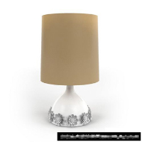 Link toThe exquisite minimalist carved table lamp 3d model