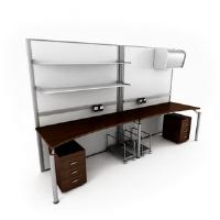Link toThe fashion boutique couple desk combination