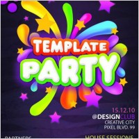 Link toThe fashion parties brochures psd