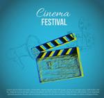 Link toThe festival poster vector
