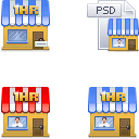 Link toThe first photoshop icons