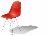 Link toThe foreign boutique office chair 3d models