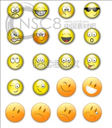 The funnies crystal emoticons