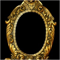 Link toThe golden european ornate picture frames hierarchical