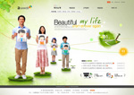 Link toThe good life website psd
