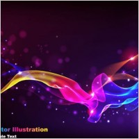 Link toThe gorgeous starstudded background 03 vector