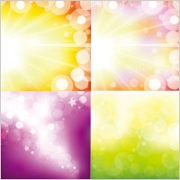 Link toThe gorgeous starstudded background vector