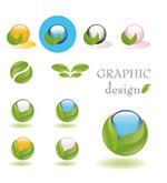Link toThe green icon vector