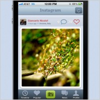 Link toThe iphone4 interface psd layered