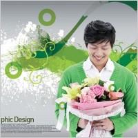 Link toThe korea design elements psd layered yi004