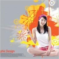 Link toThe korea design elements psd layered yi017